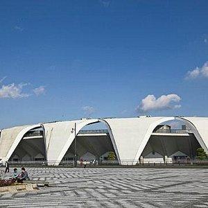 Lo stadio Olimpico di Tokyo 1964
