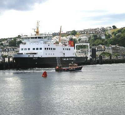Arriving in Rothesay