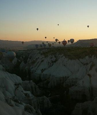 Ballon tour booked through Red Valley Tours Agency
