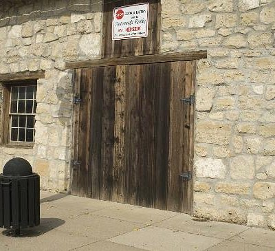 Pony Express Home Station #1 entrance to the old stables