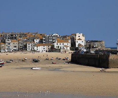 The beautiful town of St Ives