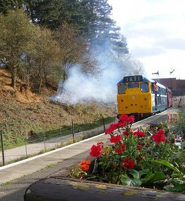 Class 31 № 31289 at Pitsford and Brampton station