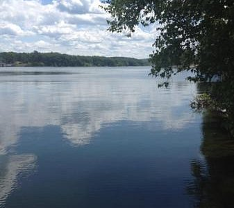 the lake on a summer day !