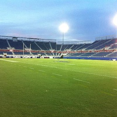 Field view, eve of first game