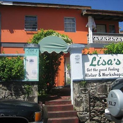 Lisa's Atelier and workshop in H.A.Blaize Street St. George's