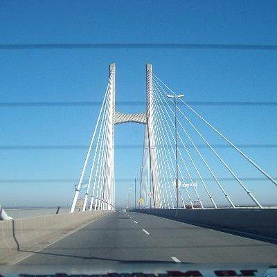 cruzando desde Rosario a Entre Rios Victoria
