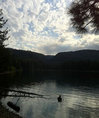 Late Afternoon at Lake Siskiyou