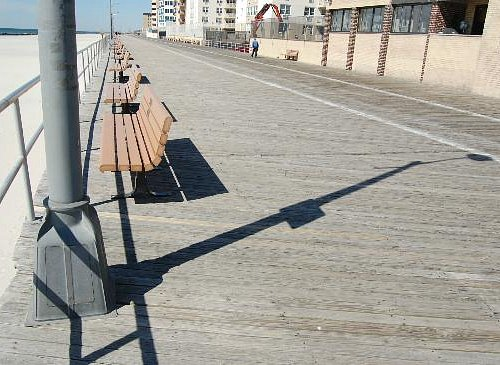 A picture I took of the boardwalk