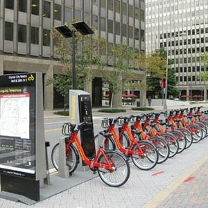 What a Bike Share Station looks like