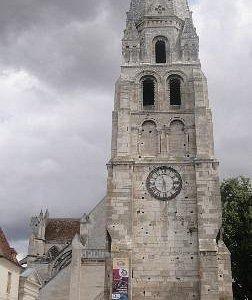 Façade Abbaye de St. Germain d'Auxerre