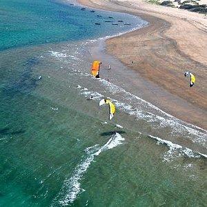 Che Shale Kiting Beach