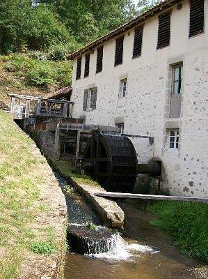 La roue du Moulin du Got