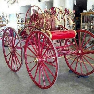 1850 hose cart