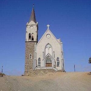 The Rock Church in Lüderitz