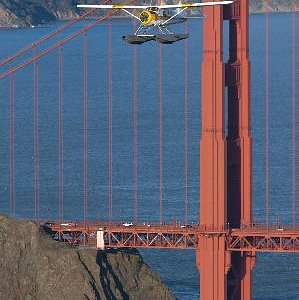 Over 67 years of our seaplanes over the Golden Gate Bridge!