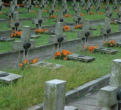 Szczecin, Central Cemetery - war-time quarter