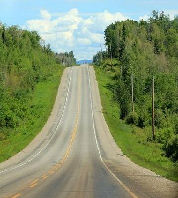 Typical road - Cariboo Hwy