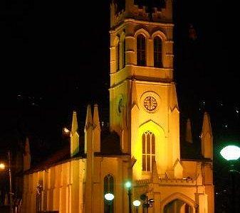Christ Church By Night..!!