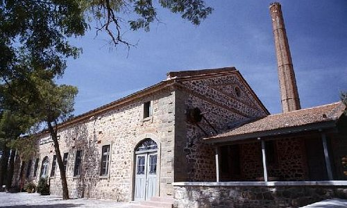 Museum of Industrial Olive Oil Production in Lesvos
