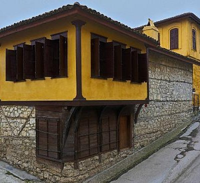 The Silk Museum in Soufli