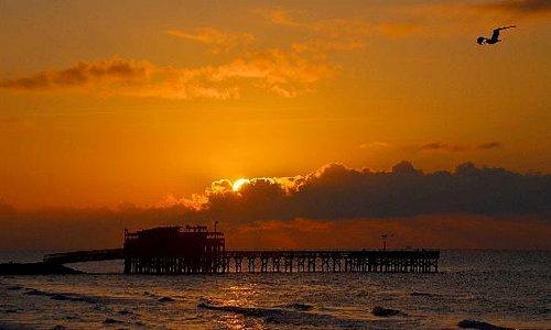 Cant beat a sunrise on the coast
