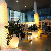 Le Hall de l'Office de Tourisme de Tours