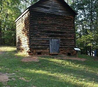 Tobacco barn on Tobacco Run trail
