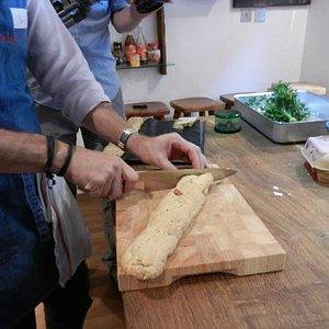 Learning knife skills