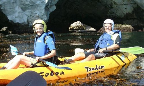 Kayaking with Pismo Beach Dive Shop