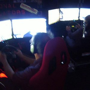 Triple Screen Motorsport Simulation Systems