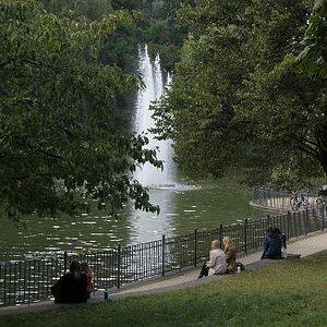 Volkspark Friedricshein - en vacker höstddag 2012