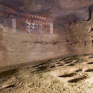 Detalle de la Cueva Pintada