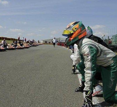 Départ de la course / Start of the race !