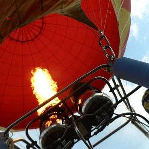 A blast of hot air
