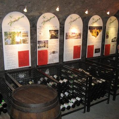 Wine bins for 120 different products