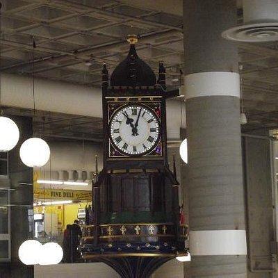 Charging Horsemen Clock