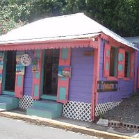 The Gallery located in a traditional West Indian House