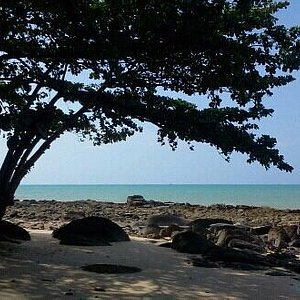 Pak Weep Beach . . . .Beside Rim Lay Restaurant