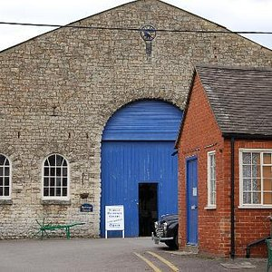 The old foundry that houses the museum