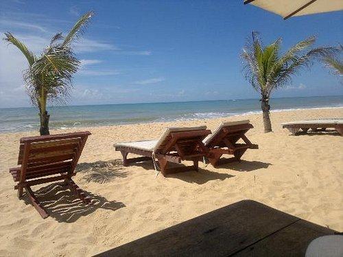 vista de la playa en Rio da Barra