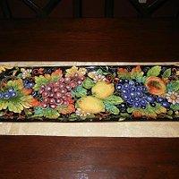 Our lovely platter from Ravello Arte