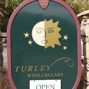 Sign for Turley Tasting Room