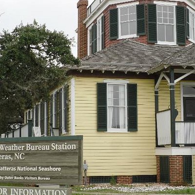 Weather Bureau in Hatteras Island