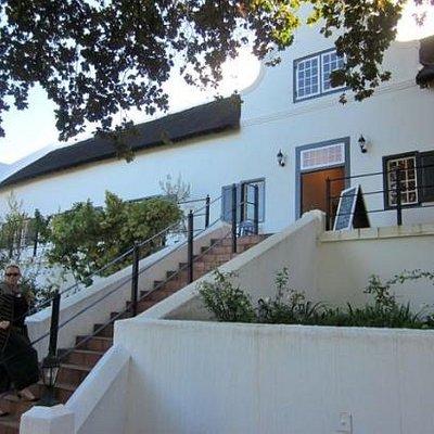 DV chocolates home is in a beautiful Cape Dutch Building