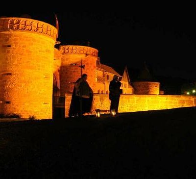 Nachtwächter vor dem Jerusalemer Tor