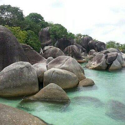 """Tanjung Tinggi beach, 16 October 2012. The shooting picture of """"Laskar Pelangi"""" film"""