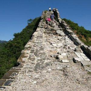 Hiking on Jinshanling Great Wall