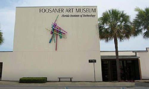 The Foosaner Art Museum Highland Avenue entrance