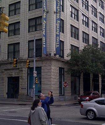 Edificio del Museo Warhol, Pittsburgh. EEUU