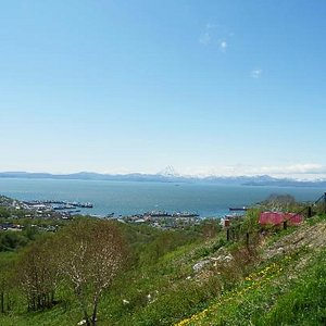 Avacha bay, view from Petropavlovsk Kamchatsky city
